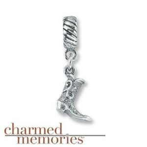 Sterling Silver Boot Charm | Charmed Memor…